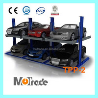 Vertical low cost mini car parking stacker