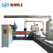 Automatic plastic pelletizer recycling machine