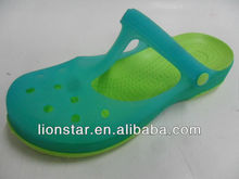 2013 latest fancy jelly new design fashion lady sandal