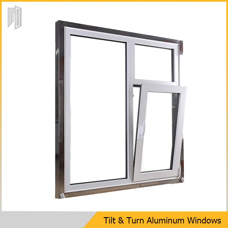 Thermally Broken Aluminium Tilt and Turn Window From China Top Supplier
