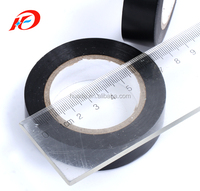 Black PVC electrical insulation Tape 19mm x 20m Flame retardant