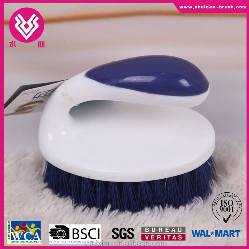 Free sample! colorful Small plastic clothes brush plastic scrub brush for clothing