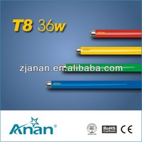 T8 36w Yellow Colorful Fluorescent Tube Light Lamp