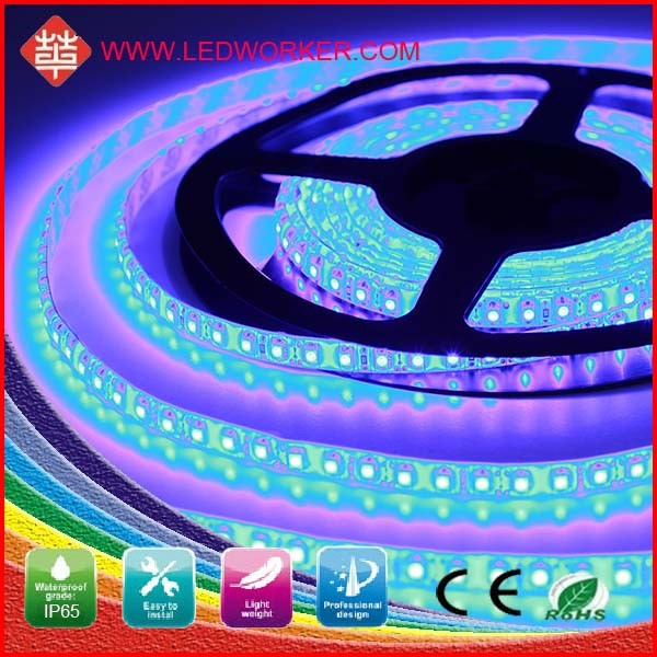 CE,ROHS 3528 Make Your Own Led Strip 120 SMD/M IP65 From Ledworker