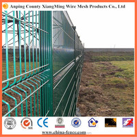 New galvanized and polyester coating RAL 6005 wire mesh for playground