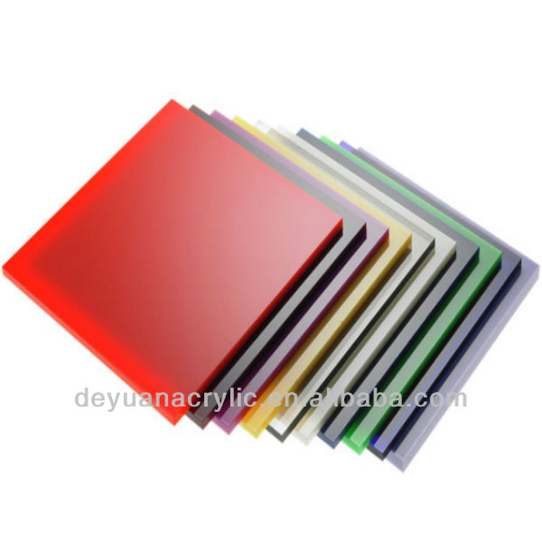 1mm to 10mm acrylic colored plexiglass sheets manufacturer
