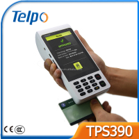 wireless touch screen mobile android handheld payment pos terminal with nfc reader sim card printer rfid qr code