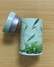 Mini tea tin box for 50g