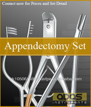 Appendectomy Instruments Set