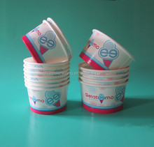 2oz-40oz Disposable Paper Cup/Ice cream Cups with Lids