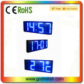 12 inch 4 digits large digital led countdown clock show temp date and time