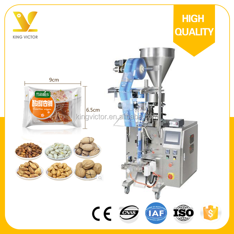 Pouch bag Automatic filling nitrogen dry food packing machine