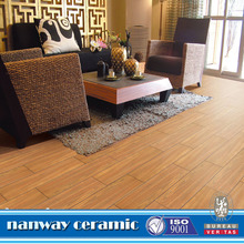 Non-slip wood look porcelain <strong>tile</strong>,wood design ceramic floor <strong>tile</strong>
