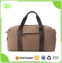 High Quality Tote Travel Bag Military Men's Travel Cotton Canvas Duffle Bag in Handbag