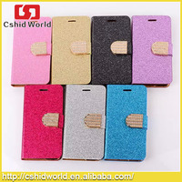 Credit Card Slot Wallet Bling Bling crystal phone case for Iphone 4.7 5.5