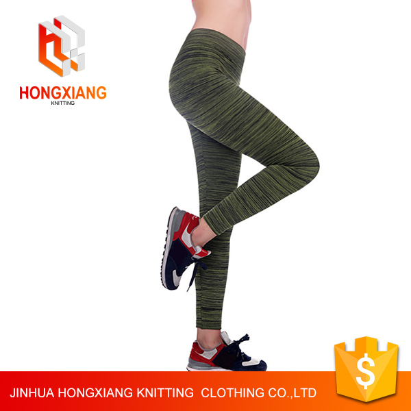 Women Yoga Polyester Sexy Compression Sports Pants