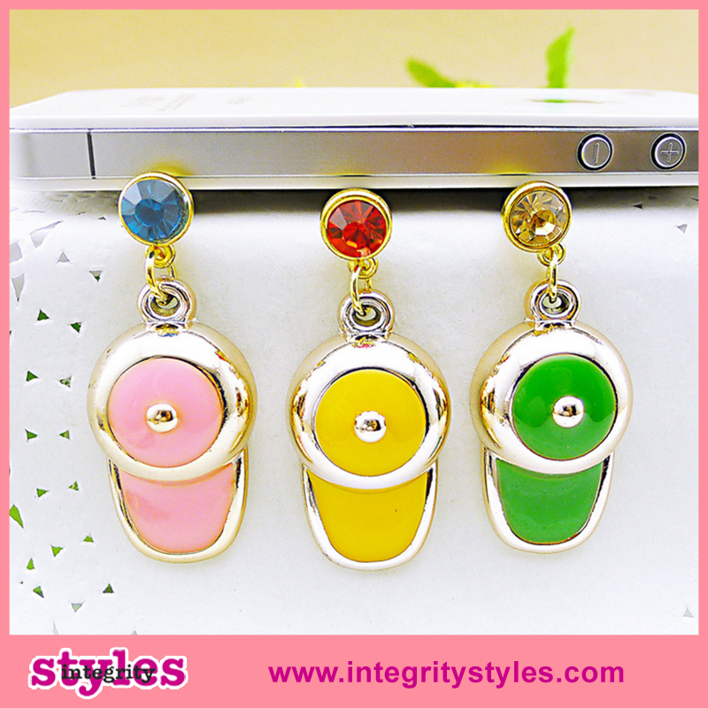 New design fashion dust plug cheap cell phone accessories