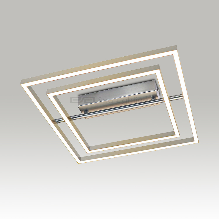 Modern home fashion LED ceiling lighting white square LED simple aluminum ceiling lamp 1130372S
