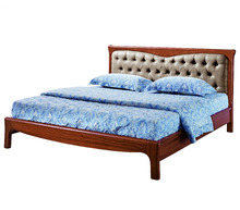 Wood Bed, Modern Wood Bed, Chinese Wooden Bed (C025-FH-C13-1)