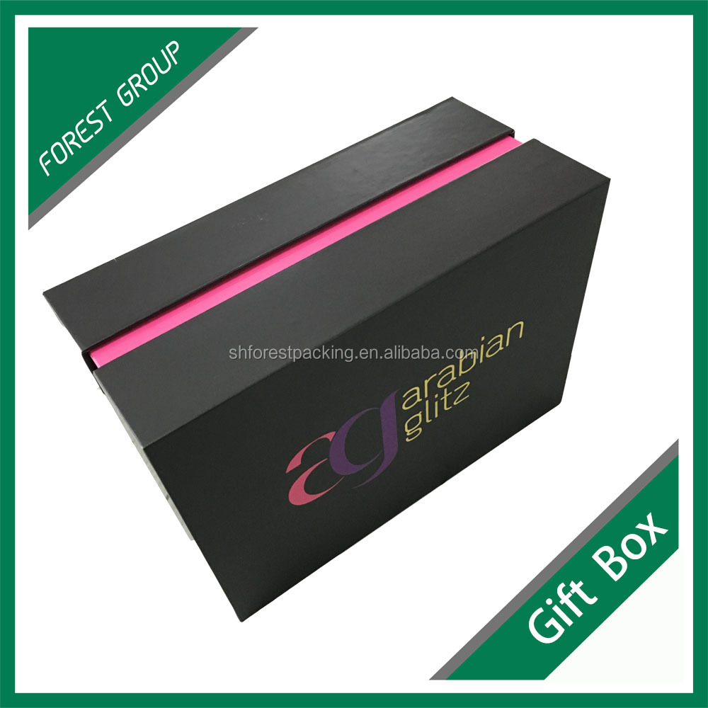 New fashion design paper cosmetic packaging solut on sale