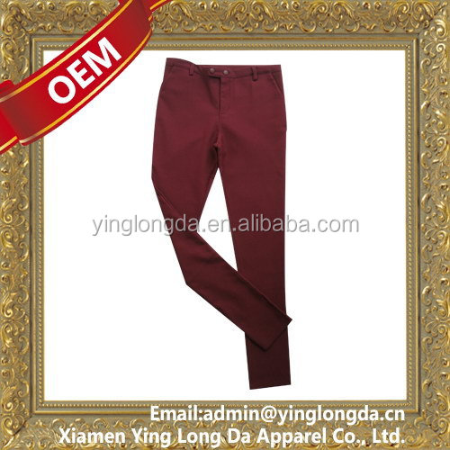 Super quality latest ladies long bottom pants for summer