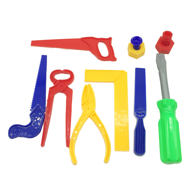 Funny for plastic kids toy tool set