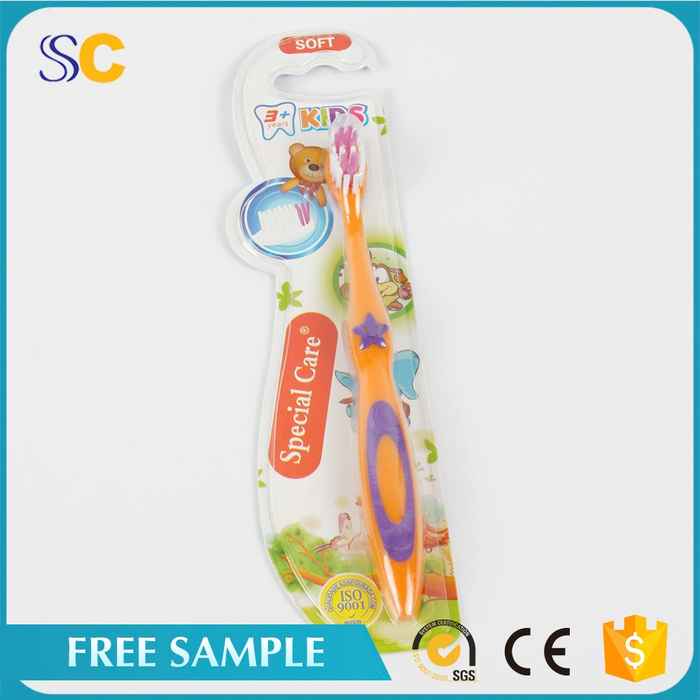 Safty kid Disposable toothbrush and toothpaste