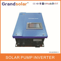 THREE PHASE WITH MPPT FOR SOLAR PUMP SYSTEM /POWER BY SOLAR PANELS 1500W SOLAR PUMP INVERTER