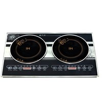 double induction cooking plate Electric glass panel stove