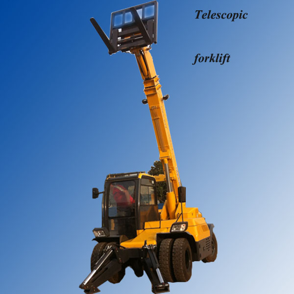 high quality and resonable price telescopic boom forklift truck telehandler