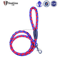 Cheap and fashion nylon dog tie out rope dog chain
