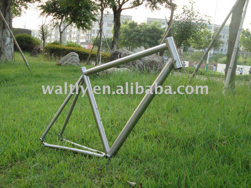 High performance titanium bike road frame-WTJ02-480