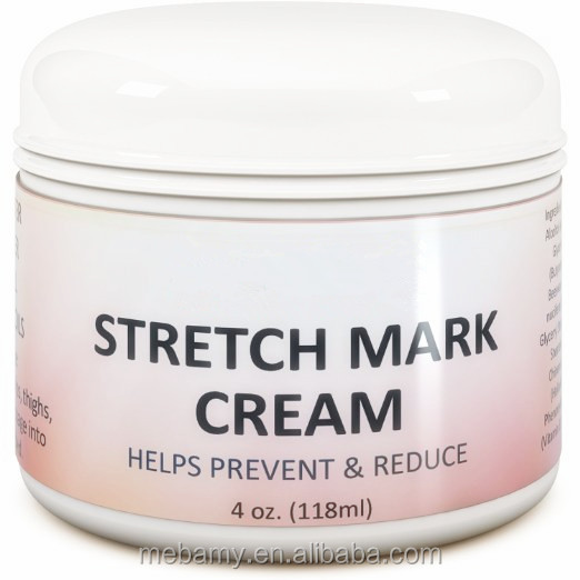 Stretch Mark Removal & Scar Cream 8 OZ ORGANIC Body & Belly Butter for Women Best Natural Creams for Removing Stretch Marks Due