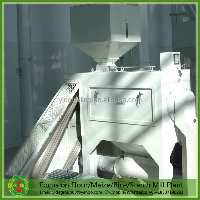 High efficiency good price of rice mill