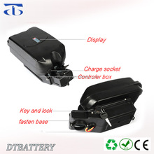 Factory price wholesale 36volt frog e bike battery lithium li-ion 36v 12ah battery pack for 500w electric -bikes