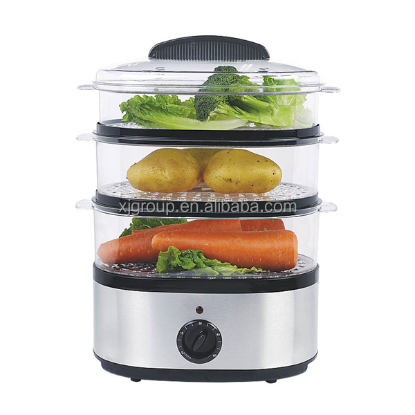 kitchen appliance plastic layers food steamer