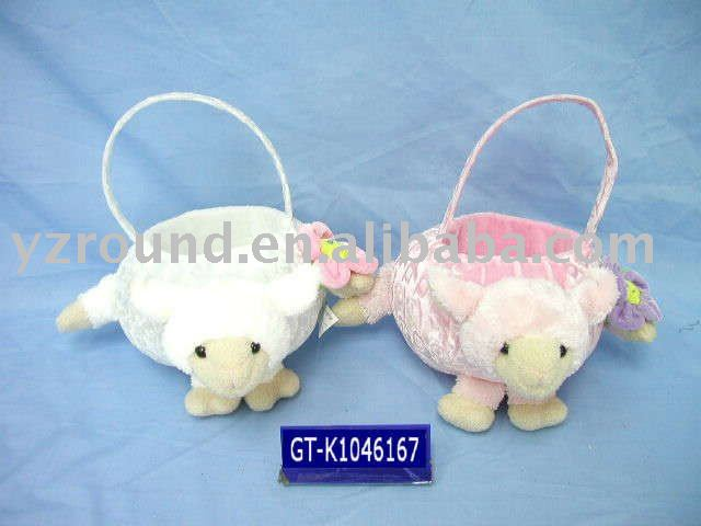 Easter lamb basket