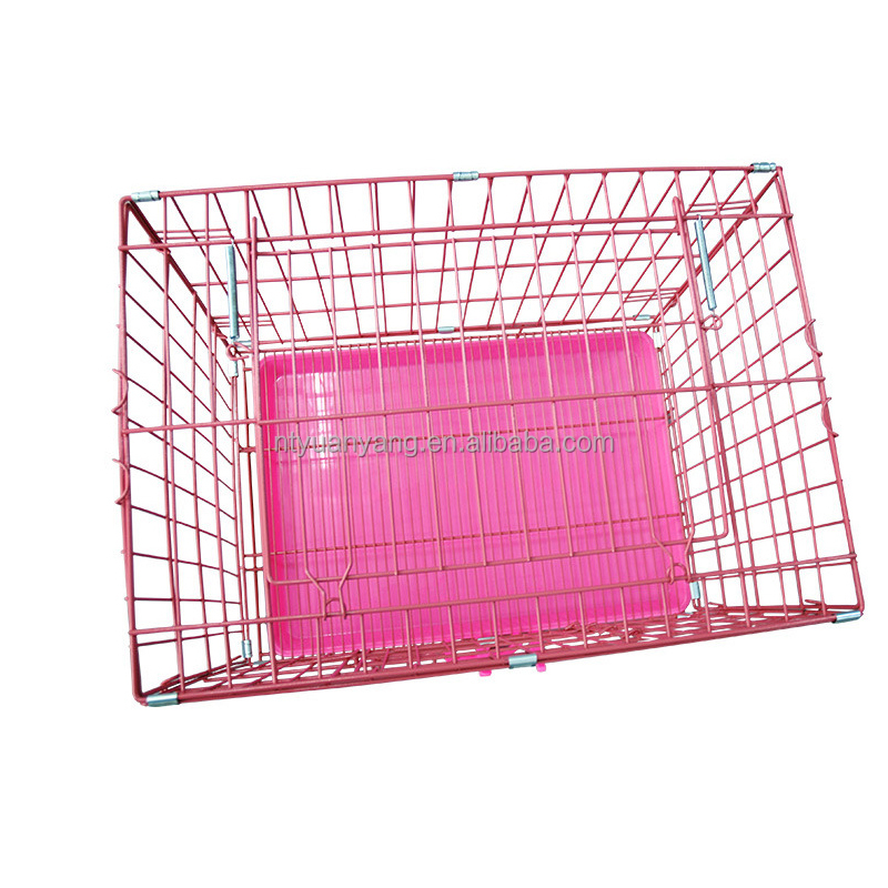 transport animal strong wire dog cage car