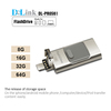USB 2.0 OTG USB Flash Drive with Micro USB Connector Memory Stick for Android & iOS