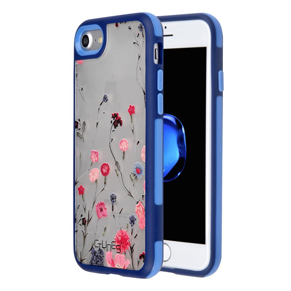 For iphone Phone Cases New Design Mobile Phone Case Interchangeable Hard Back Plate Soft TPU Bumper Cover For iPhone 8