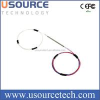 C band bare fiber 2x2 singlemode multimode fiber optical FBT splitter coupler