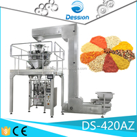 304SUS Grade Gusset Pouch Bag Automatic Frozen Food Packaging Machine