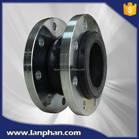 Mechanical Parts Pipe Fittings Pipeline Corrugated DN32-DN3600 Single Ball Flange Flexible Rubber Expansion Joint