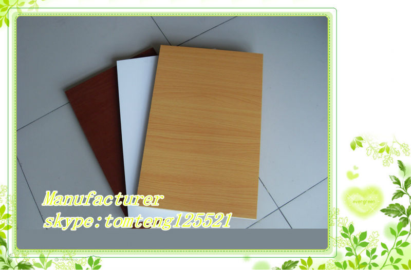 18mm Melamine colour Laminated Plywood board