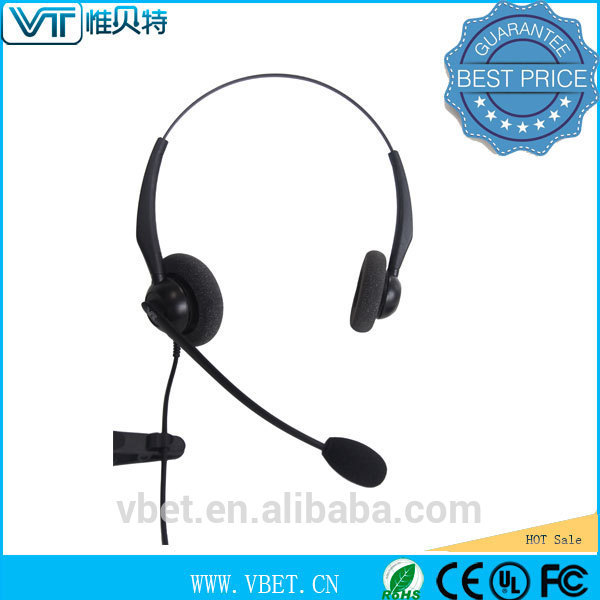 flexible mic with visual positioning guides Mutlimedia headset with mic natural sound transmission