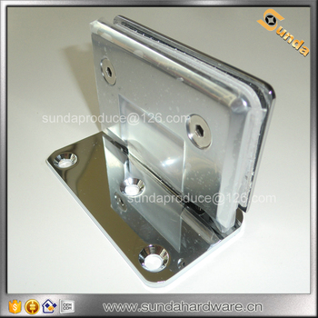 Top Quality Stainless Steel Shower Hinge, glass to wall