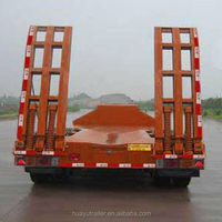 With Hydraulic Ramp 60T 3 Axle