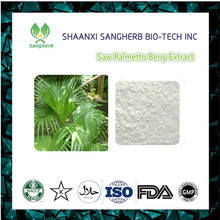 Natural Saw Palmetto fruit extract Powder Serrulata Fruit Extract