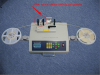 Empty pocket check SMD component counter with CE