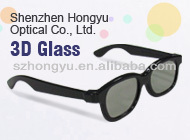 HONY classic model 3D Plastic Circular Polarized Glasses for Promotional